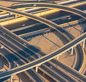 Inspiration urbain deco réseau routier