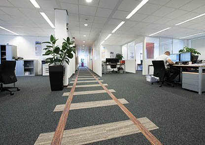 Advice choose Office carpet customised offices