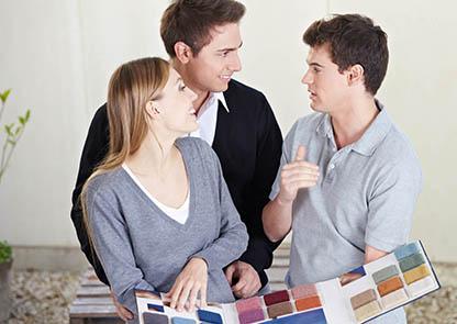 Advice choose home colour chart carpet
