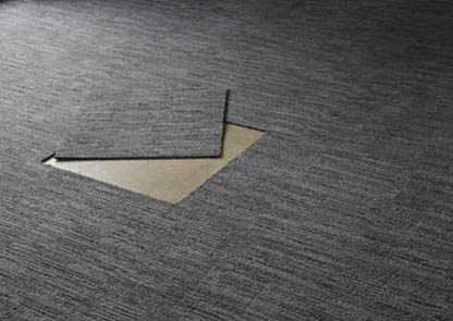 Advice lay Office laying carpet tiles