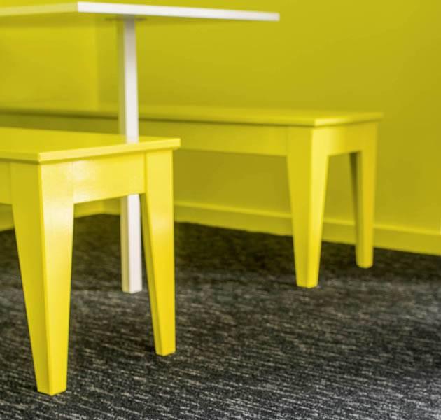 Collection pilote 3D dalle de moquette rain detail salle a manger banquette