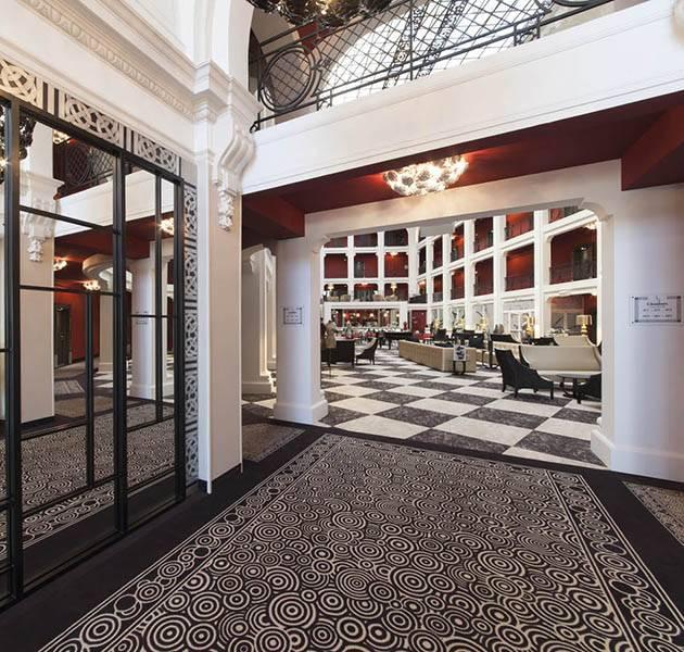 Inspiration Grande Reference hotel dalles bolero personnalisation le hall d entree