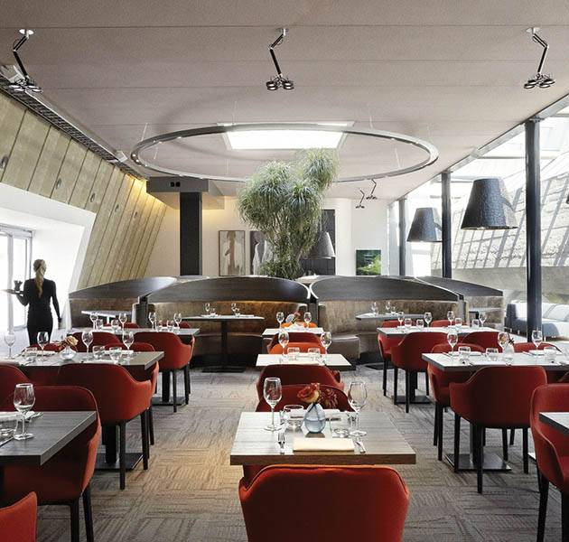 Inspiration Grande Reference hotel dalles Infini design restaurant patio