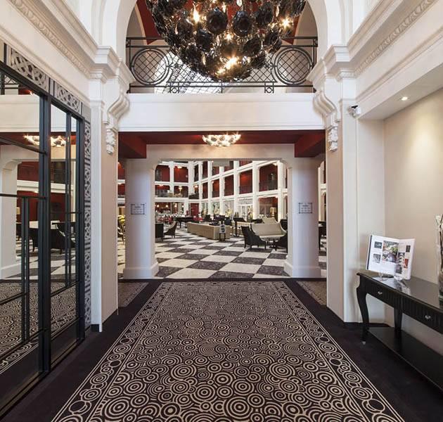 Inspiration Grande Reference hotel dalles bolero personnalisation le hall d accueil