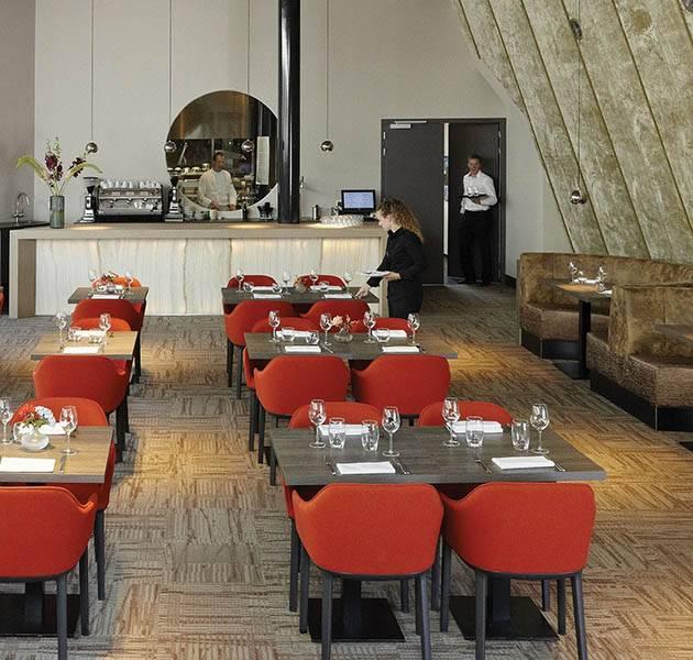Inspiration Grande Reference hotel dalles Infini design restaurant trafic