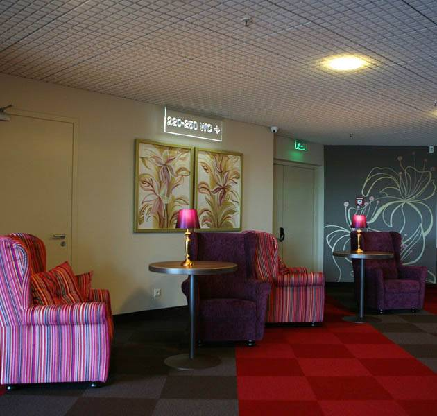 Inspiration Grande Reference hotel office origami dalles zone d attente
