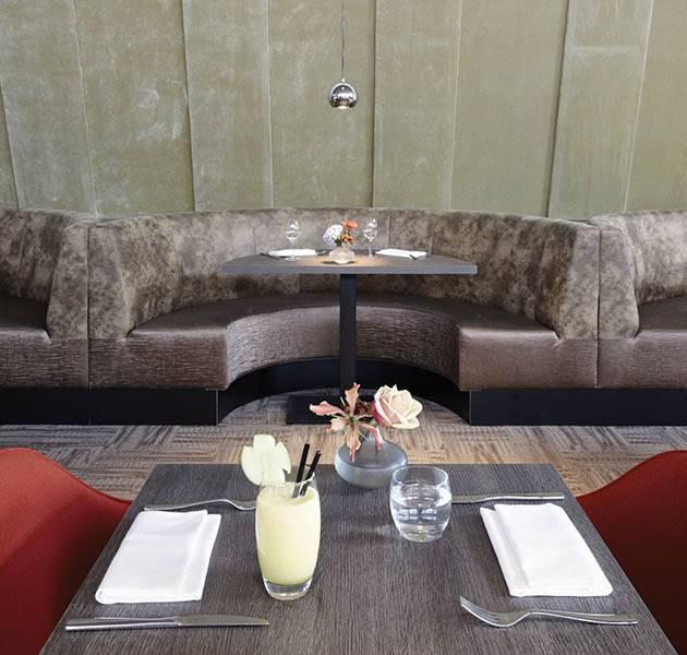 Inspiration Grande Reference hotel dalles Infini design detail moquette canape