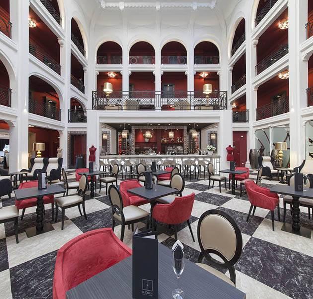 Inspiration Grande Reference hotel dalles bolero personnalisation le restaurant