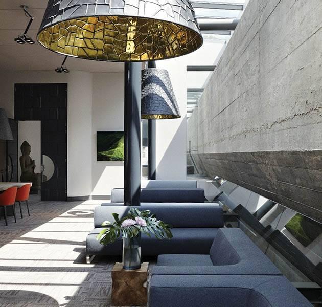 Inspiration Grande Reference hotel dalles Infini design restaurant zone detente