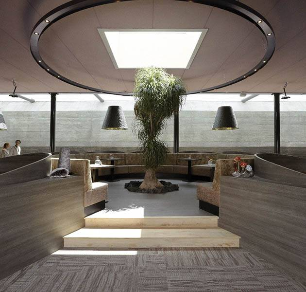 Inspiration Grande Reference hotel dalles Infini design patio interieur