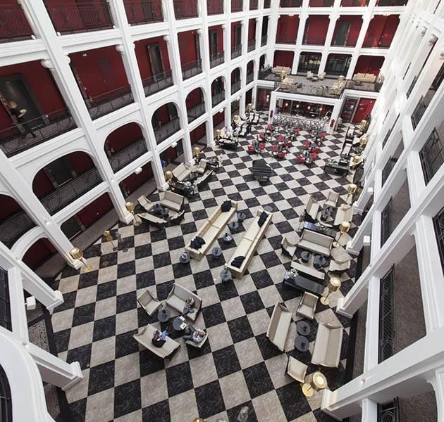Inspiration Grande Reference hotel dalles bolero personnalisation le restaurant vue hauteur