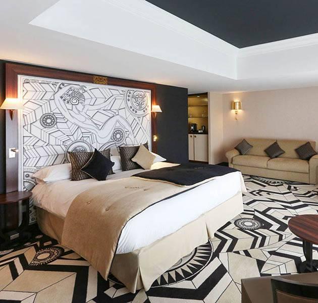 Inspiration Grande Reference hotel dalles bolero personnalisation le chambre graphique