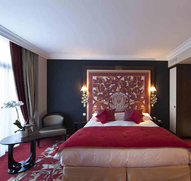 Inspiration Grande Reference hotel dalles bolero personnalisation le chambre moquette rouge