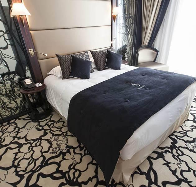 Inspiration Grande Reference hotel dalles bolero personnalisation le chambre marron seigle fleurie