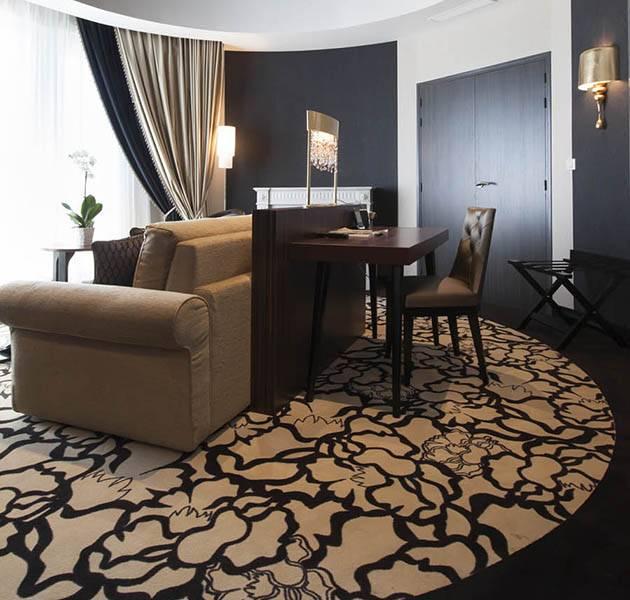 Inspiration Grande Reference hotel dalles bolero personnalisation le chambre salon fleuri