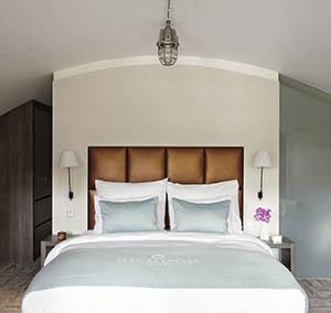 Inspiration Grande Reference hotel dalles Infini design chambre a coucher