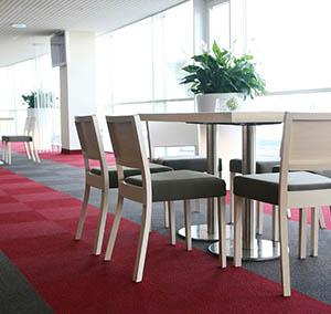Inspiration Grande Reference hotel office origami dalles restaurant table de dejeuner