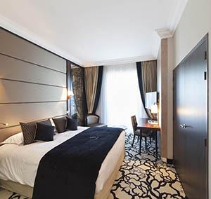 Inspiration Grande Reference hotel dalles bolero personnalisation le chambre fleurs marron