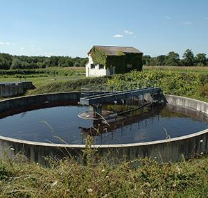 Footprint balsan waste management treatment station