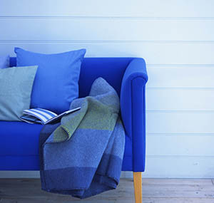Inspiration colours decor blue sofas