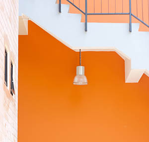Inspiration colours decor orange